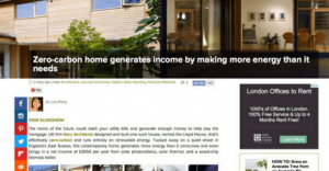 Inhabitat Koru Architects zero-carbon house