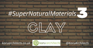 building with clay